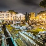 A view of ancient Rome. First crimes in Rome started over 2000 years ago!