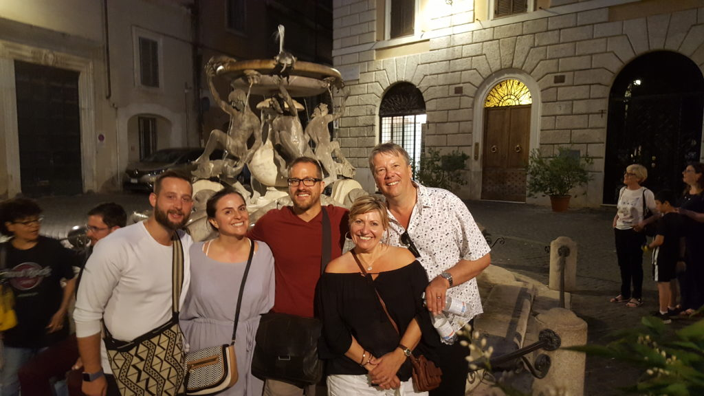 Piazza Mattei Dusk tour of Rome