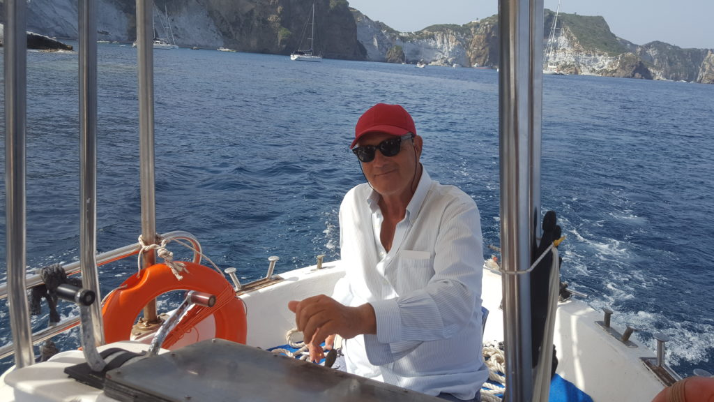 Giovanni our captain for Ponza&Palmarola