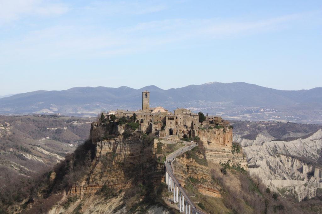 Civita di Bagnoreggio the dying city