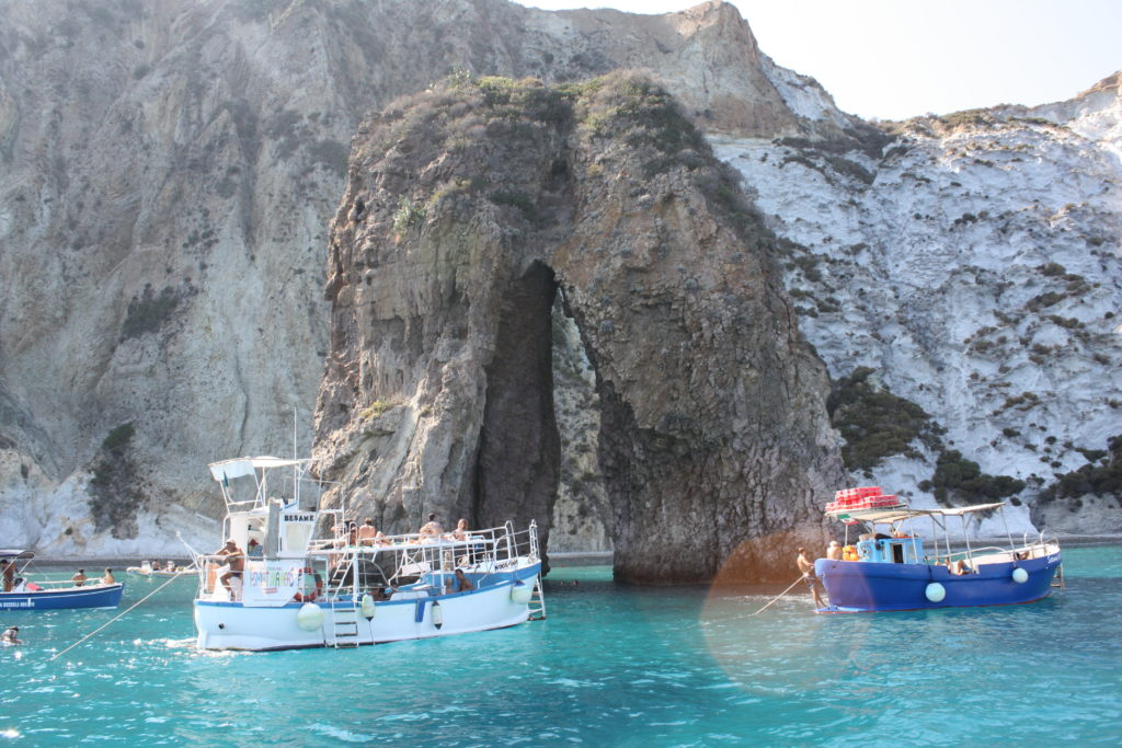 Natural Arch at Ponza&Palmarola