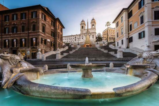 Spanish Steps Tour of Rome