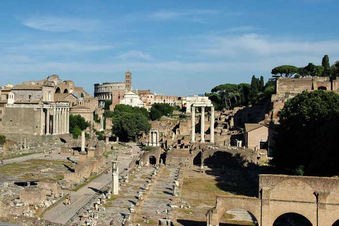 Roman Forum the center of ancient Rome's power