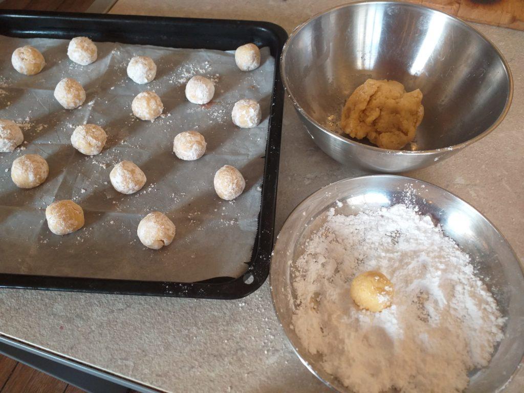 Biscotti al Limone preparation